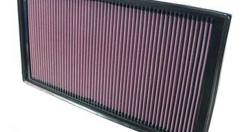 Air filter in car